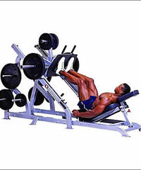 For outdoor fitness equipment consider Leg Press