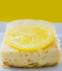 Fat-Free Lemon Custard Bars