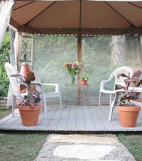 How to Install a Gazebo with a Path