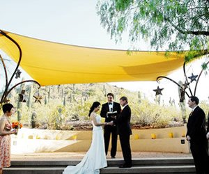 A Colorful Desert Wedding