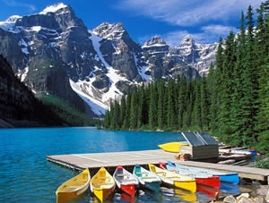 Serene Beauty of Banff Canada