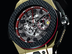 Hublot Ferrari Big Bang watch celebrates Ferrari's 20th anniversary in China