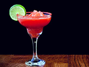 Strawberry Lime Margaritas