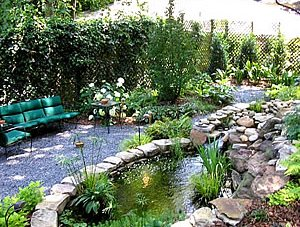 Decorate your Garden with Stones and Rocks