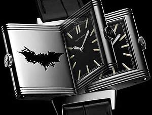 Jaegar-Le Coultre Reverso Batman edition Rises with the Dark Knight
