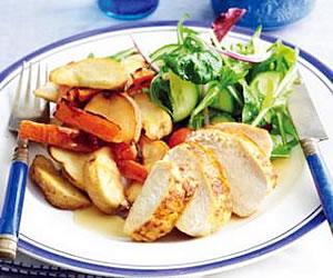 Speedy Roast Chicken and Vegetables
