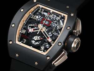 Richard Mille RM011 Felipe Massa Black Kite Flyback watch comes to America