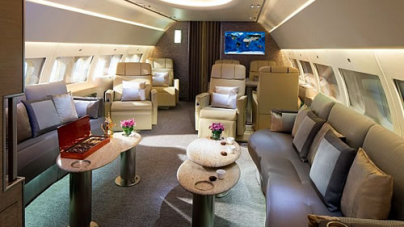 Emirates Executive Private Jet service takes off with Private suites and Bespoke Menu