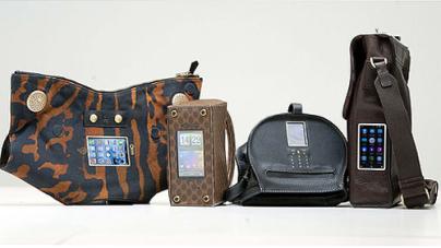 O2 Integrates Obsolete Mobile Phones McQueen & Chloe's Haute Handbags