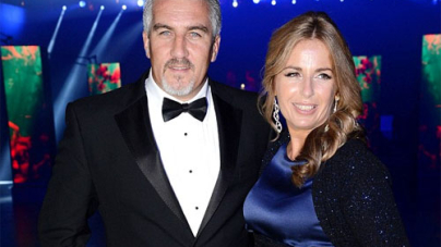 Paul Hollywood with Alexandra Friendly Tweets Birthday Meal