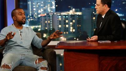 Kanye West Says He's Treated Like a Zoo Animal on Jimmy Kimmel Live
