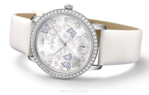Omega De Ville Prestige collection elevates Swiss prestige with pearl adorned timepiece