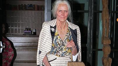 Heidi Klum Dresses Up Like an Old Lady for The Halloween Bash