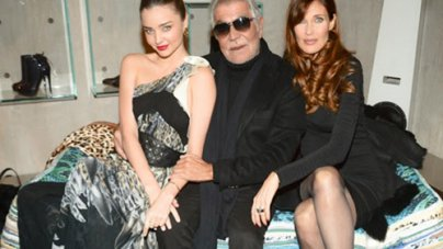 Roberto Cavalli Takes His Just Cavalli Show To The Streets Of Soho