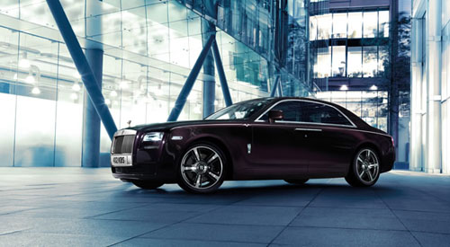 Rolls Royce limited Edition Ghost V-Specification