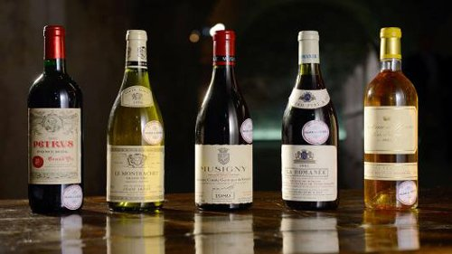 Elysee Palace Wines Fetch Nearly $1 Million