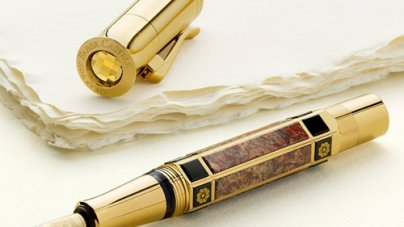 Pen of the Year 2014 by Graf von Faber-Castell is Dedicated to Catherine's Palace
