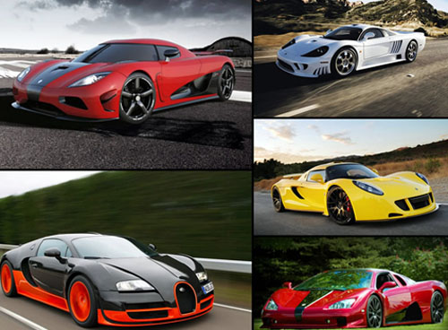 Top Fastest Street legal Production Cars in the World