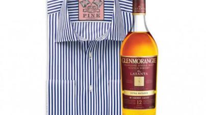 Glenmorangie Single Malt Scotch Whisky Partners with luxury Shirt