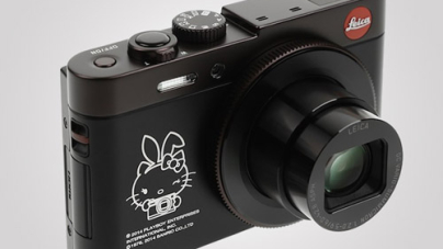 Hello Kitty and Playboy Partnered with Leica for a limited Edition Cacamera