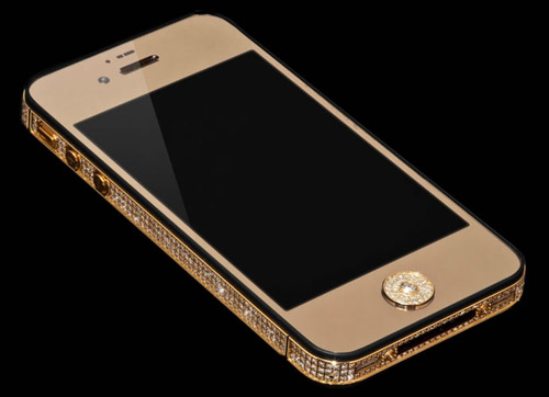 Million Dollar iPhone is Made of Pure Gold and Studded with 100 Carats of Shiny Diamonds