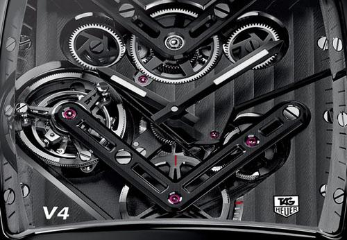 2014 TAG Heuer Monaco V4 Timepiece