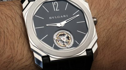 Bulgari Octo Finissimo Tourbillon Watch 2014