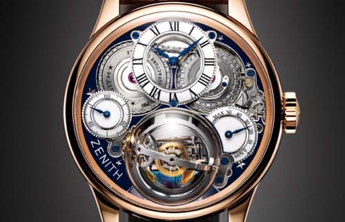 Zenith Academy Christophe Colomb Hurricane Revolución Watches For South America