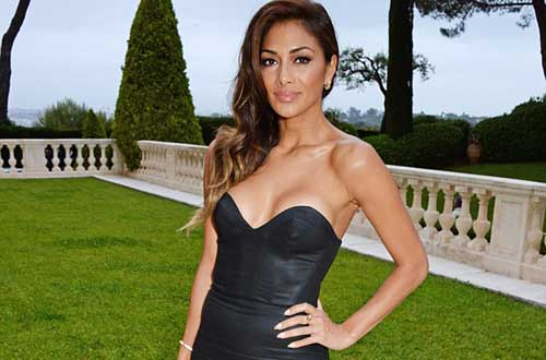 Nicole Scherzinger Pulled Out all the Stop Wearing a Skintight Black Dress at amfAR Gala