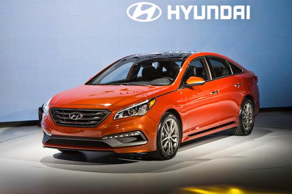 2015 Hyundai Sonata Eco Nets 38 Mpg from 1.6L