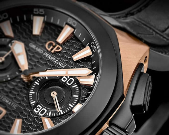 Girard-Perregaux Chrono Hawk in Rose Gold Officially Launched