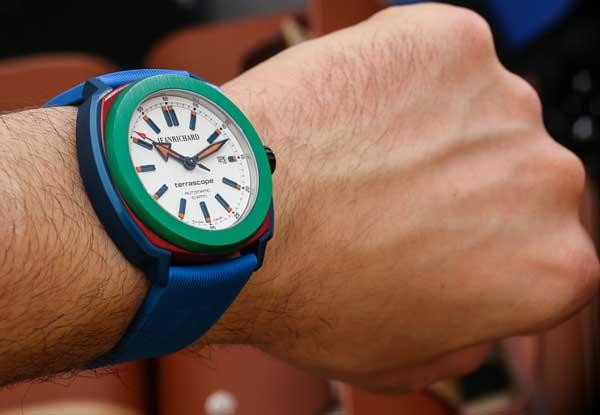 JeanRichard Terrascope Aluminum Watch