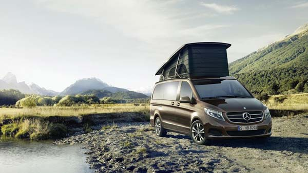 Mercedes-Benz Builds a Glamper Van
