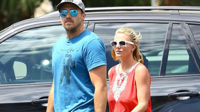 Britney Spears and her beau David Lucado