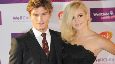 Pixie Lott slips into a sexy strapless dress at the WellChild Awards