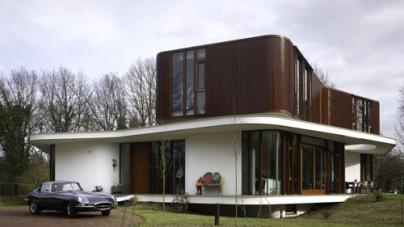 Beautiful Luxurious Villa Nefkens by Mecanoo Architects