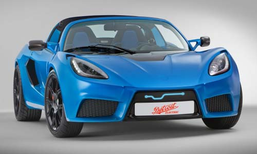 Sports Car – Detroit Electric Teases Rear of SP