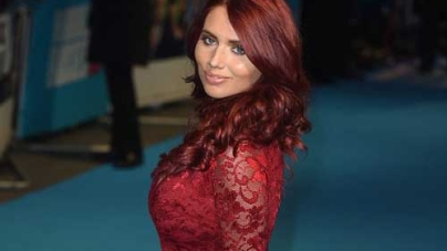 Amy Childs walks the Red Carpet at Horrible Bosses 2 Premiere