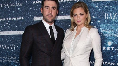 Kate Upton and beau Justin Verlander's Red Carpet Appearance