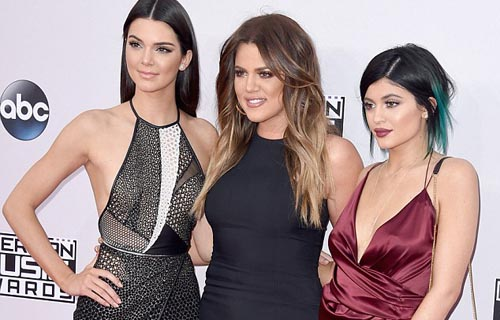 Kendall, Kylie Jenner and Khloe Kardashian