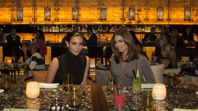 Kim Kardashian's trip to Dubai – Dinner in YUAN, Chinese Restaurant