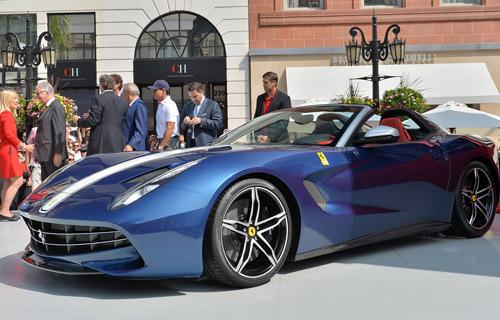 Celebrating with the Ferrari's F60America