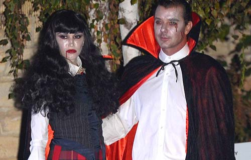 Gwen Stefani and Gavin Rossdale at Kate Hudson's Halloween party