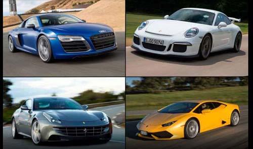 Top Ten Powerful Cars of 2015