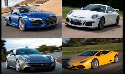 Top Ten Powerful Cars of 2015