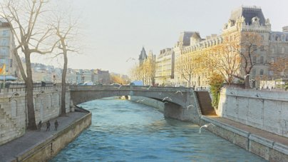 Beautiful Watercolor Realism of Paris in Thierry Duval's Paintings