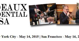 Bordeaux Confidential Wine Tasting Event