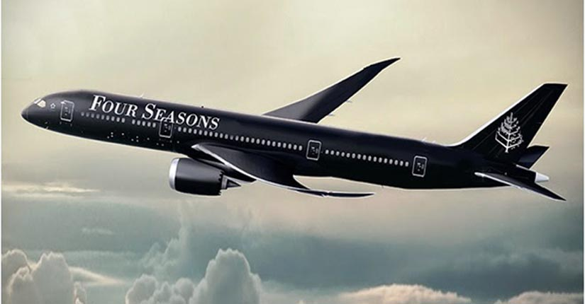 Four Seasons Private Jet First Fully-Branded Jet Experience