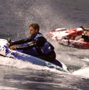 JETPAD water go-kart to the marine leisure and tourism
