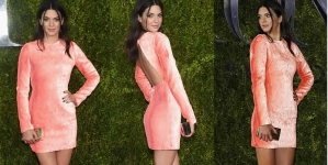 Kendall Jenner Makes Surprise Appearance at the 2015 Tony Awards